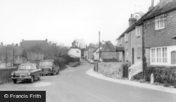 West Chiltington, Church Street c.1960
