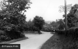 West Chiltington, Common Hill c.1960