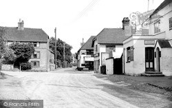 West Chiltington, Crossroads c.1955