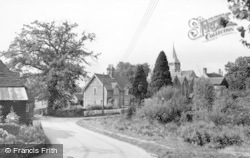 West Chiltington, Pond Corner c.1955