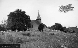 West Chiltington, St Mary's Church c.1955