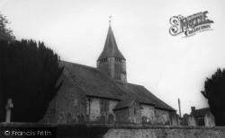 West Chiltington, St Mary's Church c.1960