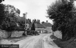 West Chiltington, The Mill Corner c.1955