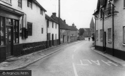 West Chiltington, The Street c.1960