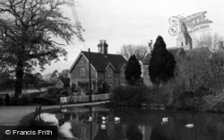 West Chiltington, The Village Pond c.1955
