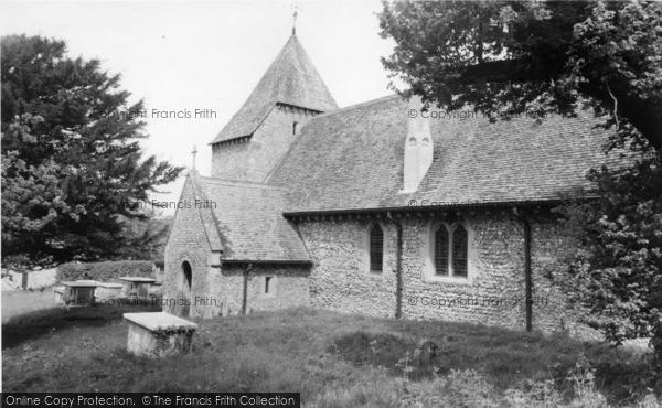 Photo of West Dean, All Saints Church c.1960