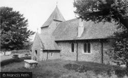 West Dean, All Saints Church c.1960