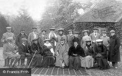 Royal Shooting Party At West Dean Park 1904, West Dean