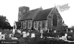 St Andrew's Church c.1955, West Dereham