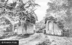 The Abbey Gates c.1955, West Dereham