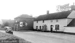 The Chequers & Post Office c.1955, West Dereham
