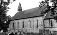 West End, the Church c1955