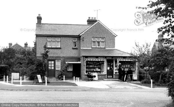 West End, Village Stores c1955