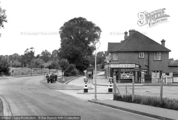 Photo of West Ewell, c1950, ref. W503002