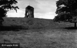 West Grinstead, Knepp Castle 1952