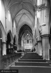 Our Lady Of Consolation Roman Catholic Church, Interior c.1960, West Grinstead
