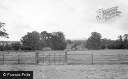 West Grinstead, View Of Chanctonbury Ring c.1955