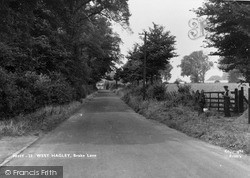 Brake Lane c.1955, West Hagley