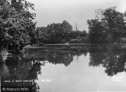 Brake Mill Pond c.1950, West Hagley