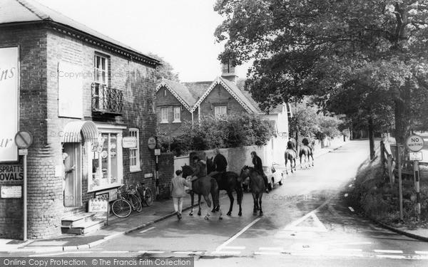 West Hagley, Hall Lane c1965