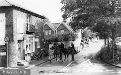 Hall Lane c.1965, West Hagley