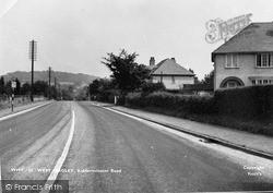 Kidderminster Road c.1955, West Hagley