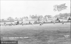 Playing Field c.1960, West Hagley