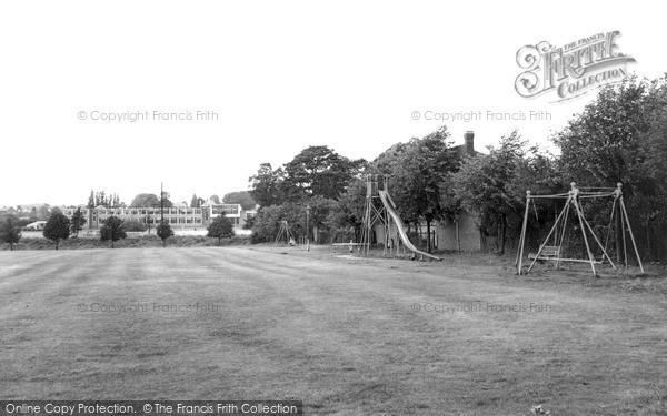 West Hagley, Playing Fields c1960