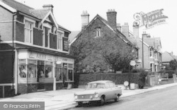 West Hagley, Shops In Worcester Road c.1965
