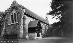 St Saviour's Church c.1965, West Hagley