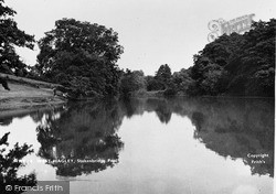 Stakenbridge Pool c.1950, West Hagley