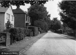 Western Road c.1955, West Hagley