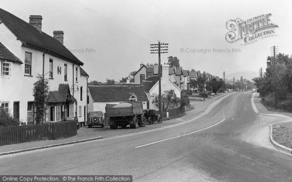 West Hagley, Worcester Road c1950