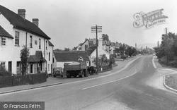 Worcester Road c.1950, West Hagley