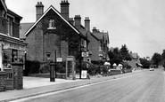 West Hagley, Worcester Road c1955