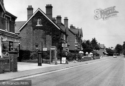 Worcester Road c.1955, West Hagley