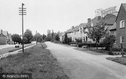 Worcester Road c.1960, West Hagley