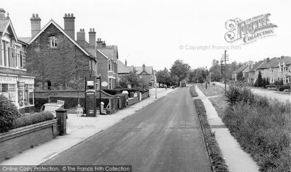 West Hagley, Worcester Road c1960