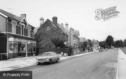 Worcester Road c.1965, West Hagley