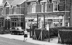 Worcester Road, Shops c.1960, West Hagley