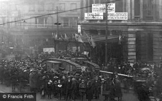 West Ham, 1st World War Tank 1918