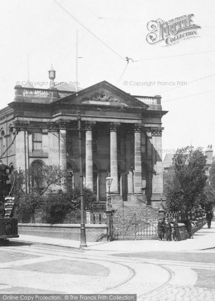 Photo of West Hartlepool, Boys At Wesleyan Church Gates 1901
