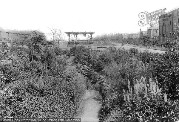 Photo of West Hartlepool, Burn Valley Gardens 1901, ref. 46952