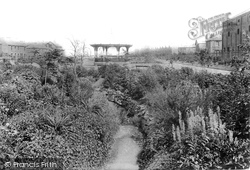 West Hartlepool, Burn Valley Gardens 1901