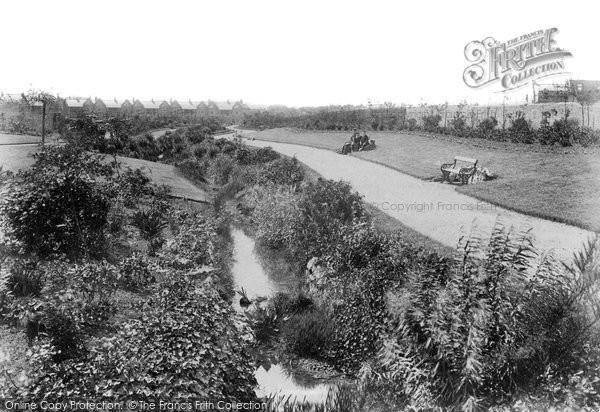Photo of West Hartlepool, Burn Valley Gardens 1901