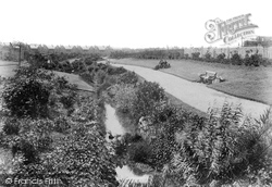 Burn Valley Gardens 1901, West Hartlepool