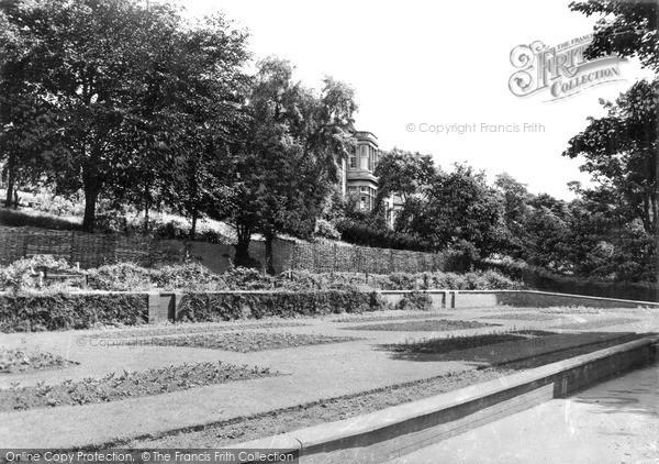 Photo of West Hartlepool, Burn Valley Gardens c.1955