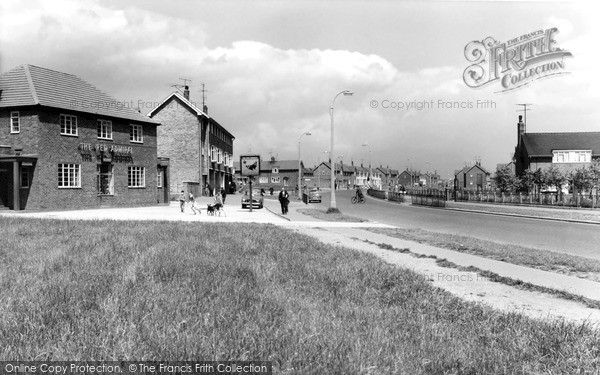 Photo of West Hartlepool, Catcote Road c1960, ref. w66029