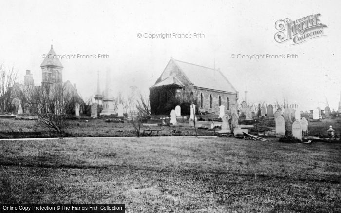 Photo of West Hartlepool, Cemetery 1886