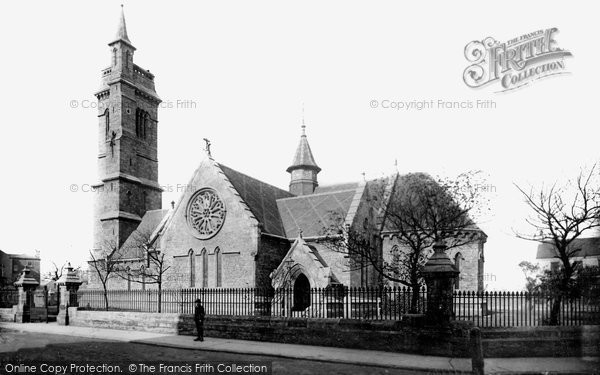 Photo of West Hartlepool, Christ Church 1886